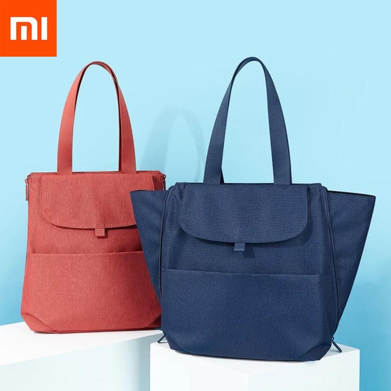 2 Colors Original Xiaomi Mijia Large Capacity Dual use Mummy Bag Anti water Double Shoulder Diagonal