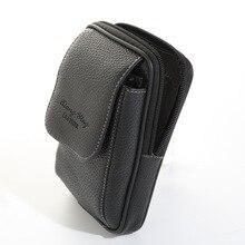 Pu Leather Pouch Waist Bag Men Belt Wear Casual Fanny Pack Bumbag Coin Phone Pocket Male Purse Funny Wallet Bolsa de Cintura