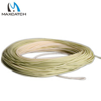 FREE SHIPPING Perception Floating Trout WF4F Fly Line Weight Forward Floating With Welded Loops Fly Fishing