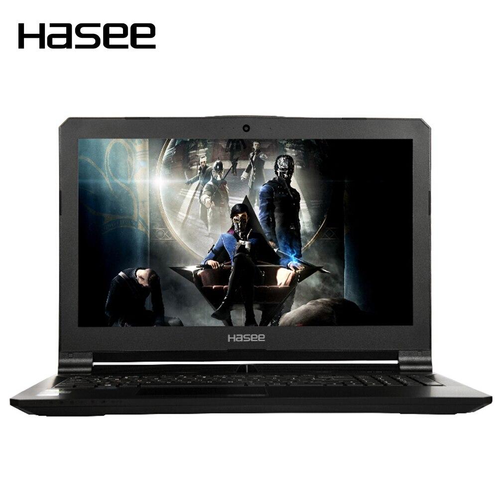 "Hasee z7-kp7s1 игровой ноутбук Тетрадь ПК для Intel i7-7700hq gtx1060 6 г GDDR5 8 ГБ DDR4 256 г SSD 1 т HDD 15.6 ""IPS"