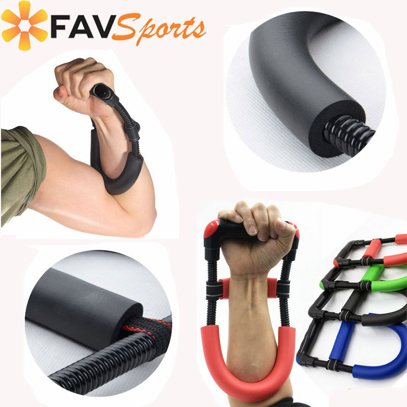 PAIR Hand Grip Exerciser Forearm Wrist Arm Muscle Builder  Fitness Healthy Life