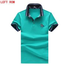 men polo Plus Size S-5XL Brand New men's polo shirt short sleeve cotton polo jerseys polo shirts Men fashion casual top