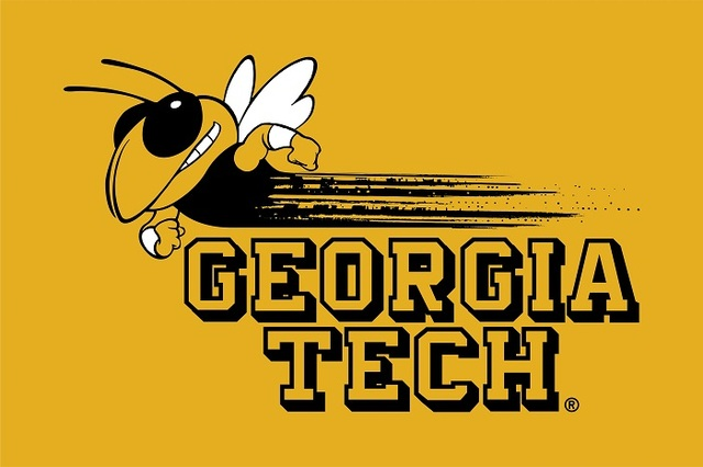 Georgia Tech Yellow Jackets Flag 3ft x 5ft Polyester NCAA