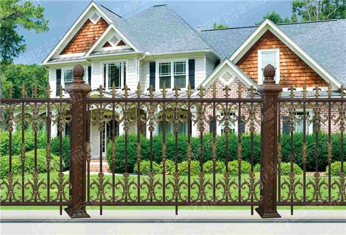 New Style Powder Coated Metal Aluminum Fence Designs Hc-af4