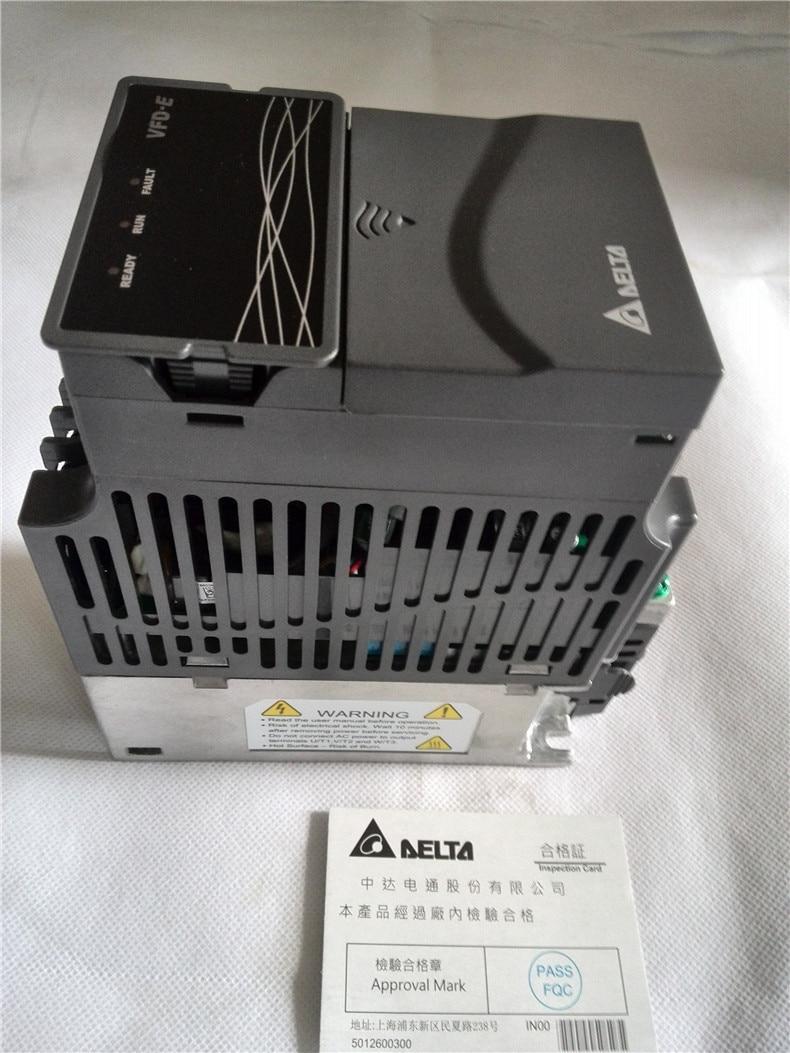 Vfd007e21t delta vfd e inverter ac motor drive 1 phase for Single phase motor inverter