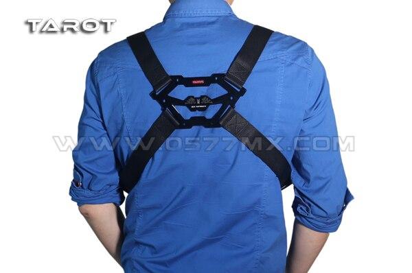 Tarot Shoulder Strap Belt Dual Hanging For Remote Control Controller Transmitter Black TL2875-2