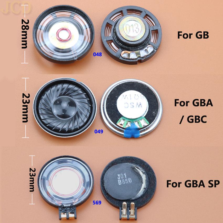 JCD 1PCS 23mm 28mm Louder Speaker For Nintend Gameboy Color Advance GBC GBA For Gameboy Advance SP GBA SP LoudSpeaker