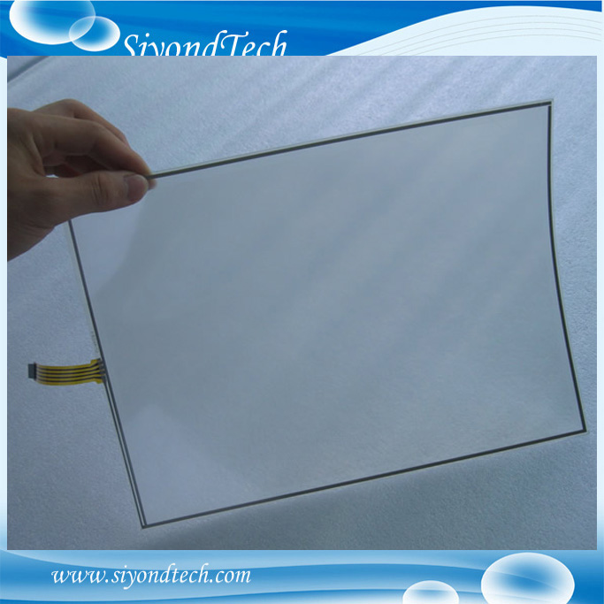 Free Shipping!!! 1PC 17inch 4Wire 0.5MM Film to Film Resistive Touch Screen 355MM*288MM Digitizer+Controller все цены