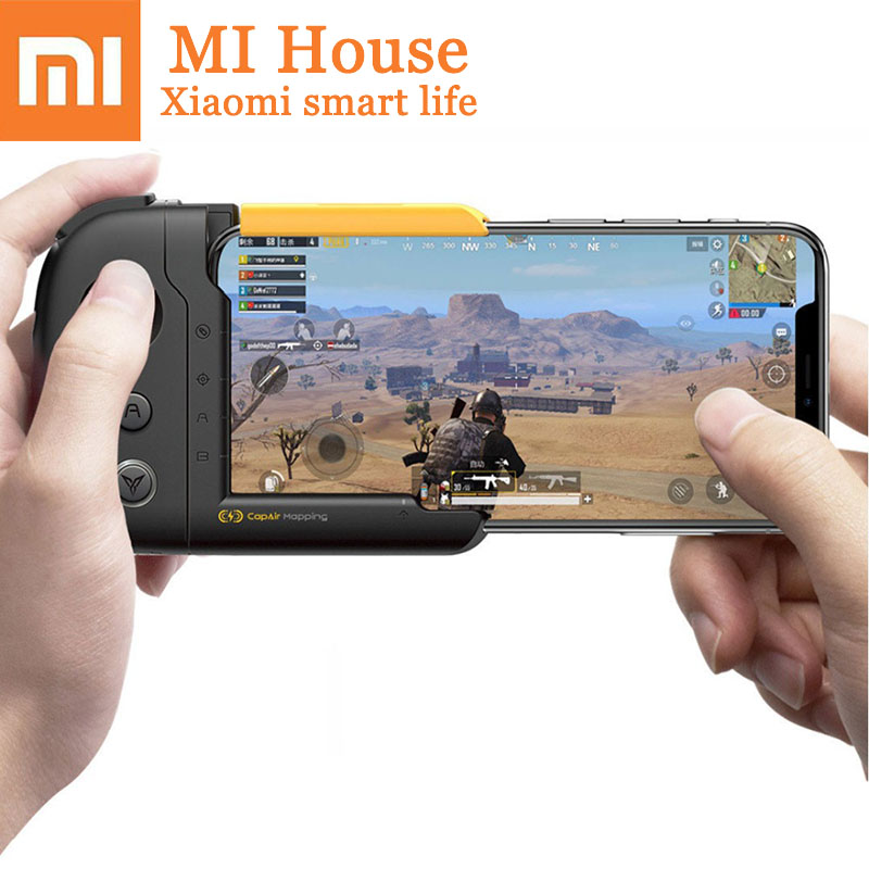 Xiaomi Flydigi One-Handed Gamepad iOS Physical Connection Smart Joystick For Iphone6-X Game Controller Fps Shooting Game Fitting flydigi x9et pro non vibration mobile game handle controller