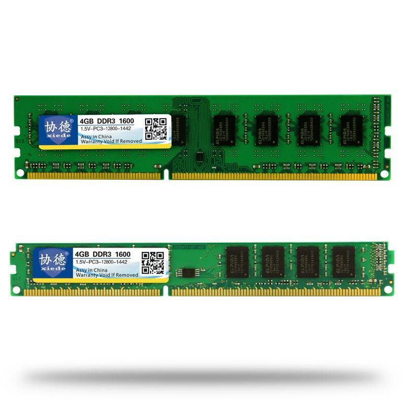 Comert cu ridicata Xiede DDR3 1600 / PC3 12800 2GB 4GB 8GB 16GB - Componente PC