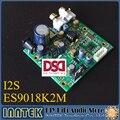 HiFi ES9018K2M ES9018 I2S Вход ЦАП Плата декодера, поддержка XMOS USB/Amanero I2S интерфейс