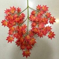 5 Dozen Artificial Plants Maple Leaves Plastic Simulation Wedding Home Party Decoration Flower Spring Grass