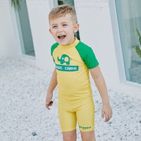 SABOLAY Baby Girls Swimming Suit Long Sleeve Two Piece Kids Beach Bathing Wear Trunks Swimming sun protection UPF 50 Swimwear