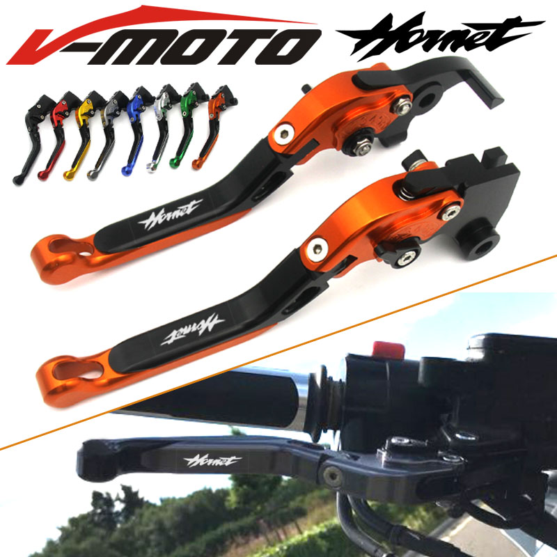 For HONDA CB 599 CB 600 98-06 CBR 600 F2.F3.F4.F4i 91-07 Hornet CB919 02-07 Motorcycle Folding Extendable Brake Clutch Levers