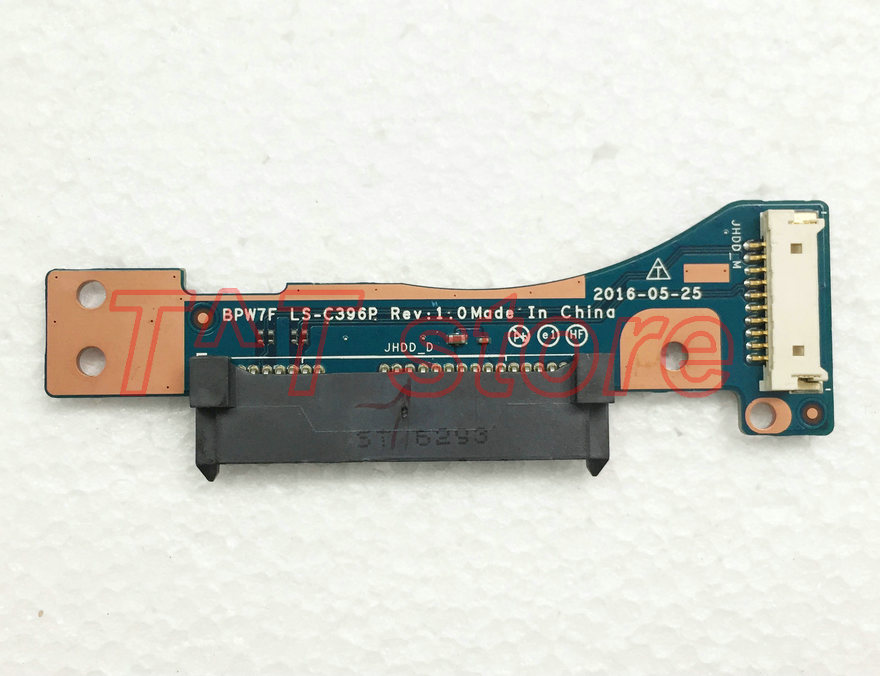 original for HP Zbook17 G3 HDD hard drive connector board LS-C396P 906119-001 test good free shipping