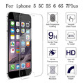 "Ultra Delgado de Cristal Templado para iPhone4 4S 5 5C 5S 6 6 S 7 a prueba de arañazos 2.5d hd iphone 6 6 s 7 más 5.5 ""Protector de pantalla de Cine"