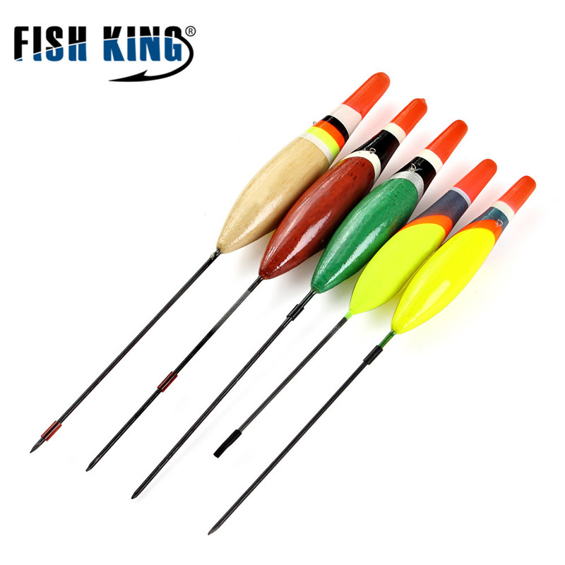 5Pcs/Set Outdoor Fishing Floats Set Buoy Bobber Fishing Light Stick Floats Fluctuate Mix Size Color For Fishing Accessories
