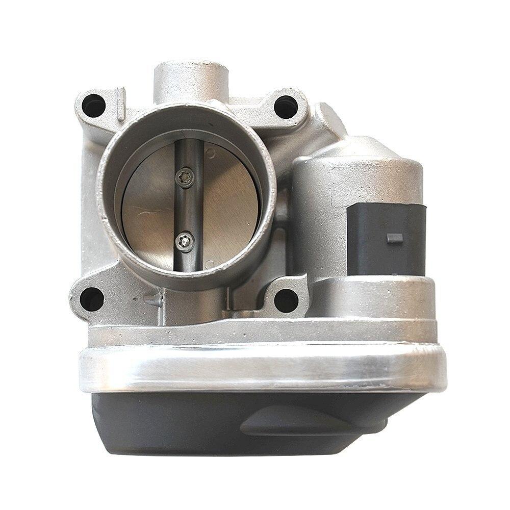 Pièces de rechange automatiques d'accélérateur de corps d'accélérateur de voiture pour le système d'admission d'air de soupape d'accélérateur de Polo 1.4