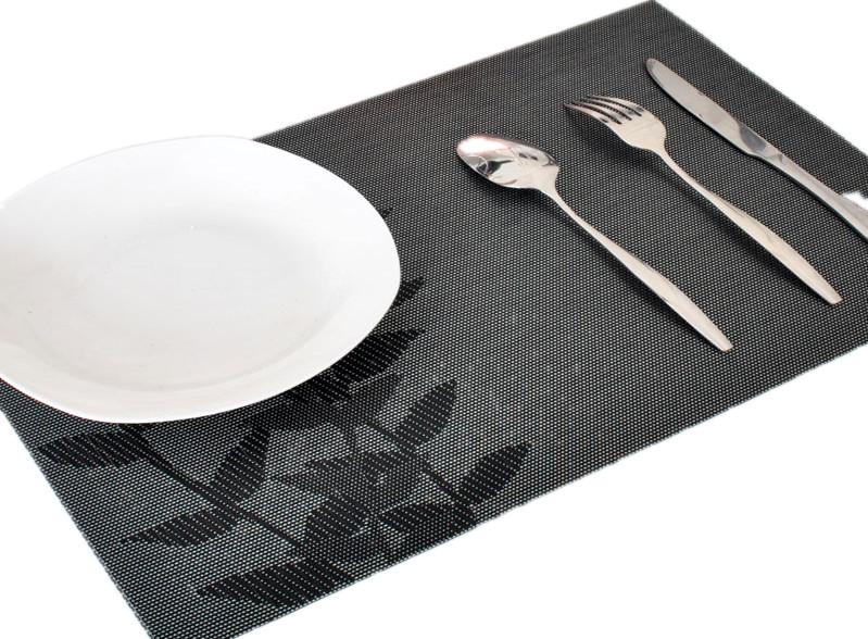 Placemat Dining Table Mat Heat Insulation Pad Plastic Disc