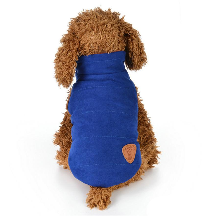 TAILUP Dog clothes christmas Pet Clothes Puppy Round Neck Shirt Two-Legged Clothes Double-Faced Cotton Coat L815