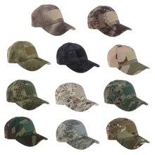 Унисекс спортивная шапка Военная Тактическая камуфляжная бейсболка для бега на открытом воздухе