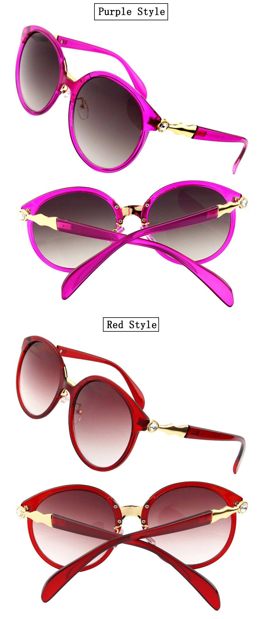 af5cf2f20 ჱإيثان الفاخرة النظارات الشمسية النساء عدسات مستديرة نظارات شمسية ...