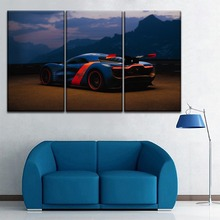 Modular Renault Alpine Concept Sport Car Pictures One Set 3 Piece Style Painting Modern On Canvas Print And The Wall Decor