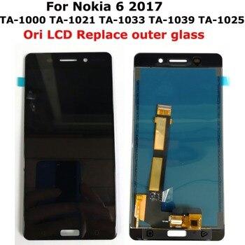 Shyueda 100% Orig IPS AAA+ 5.5 For Nokia 6 TA-1000 TA-1021 TA-1033 TA-1039 TA-1025 TA-1003 LCD Display Touch Screen Digitizer