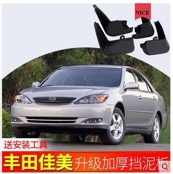 Auto przednie tylne błotniki 4 sztuk dla Toyota camry 2.4L błotniki specjalny samochód błotnik błotnik błotniki