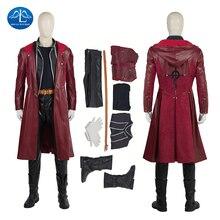 цена на ManLuYunXiao Halloween New Men's Fullmetal Alchemist Cosplay Costume Edward Elric Costume Game Japanese High Quality Custom Made