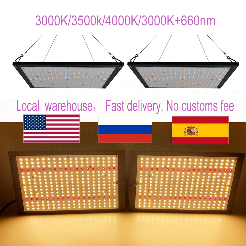 led grow light quantum board LM301B 288Pcs Chip Full spectrum 240w samsung  3000K, 660nm Red
