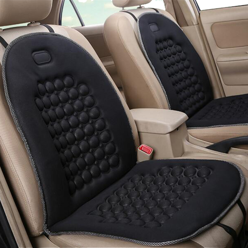 High Quality Easy Clean Car Seat Cover Car Interial Seat Protector Mat Auto Car Seat Covers 2 seats Black For Four Season ...