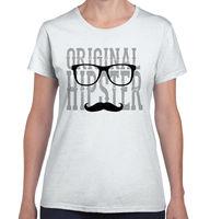 Original Hipster Funny Humorous Geek Attitude Picture Gift Ladies T Shirt Fashion T Shirt Women Summer