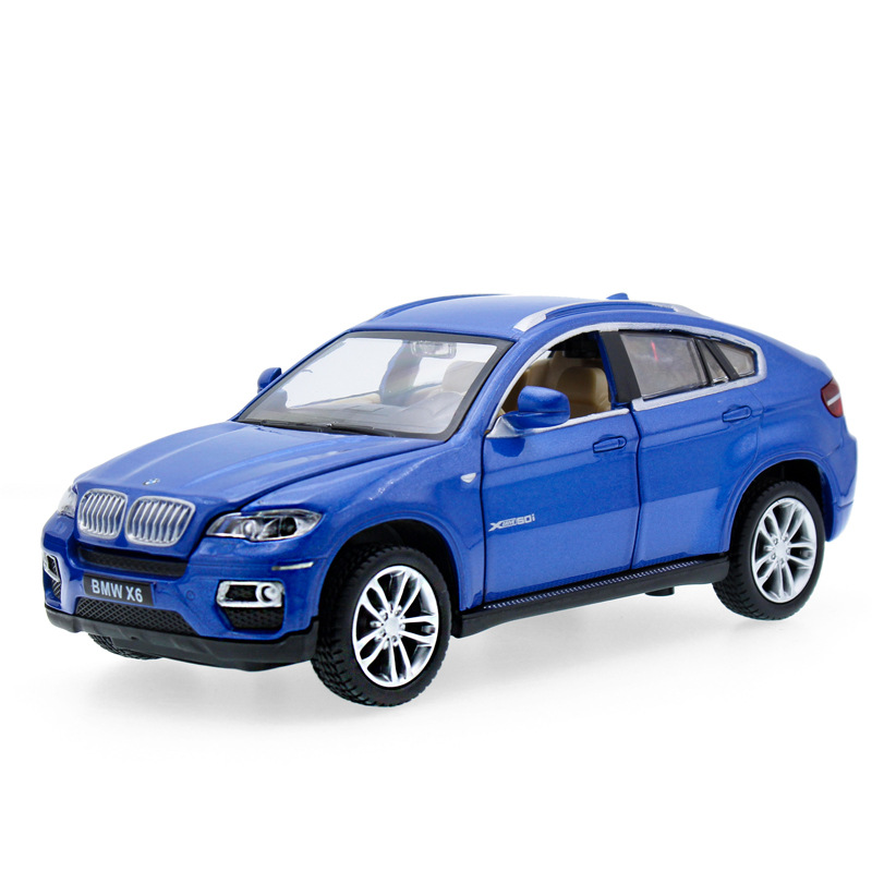 High Simulation 1:32 6x SUV Diecast Alloy Metal Luxury Racing Car Model Collection Model ...