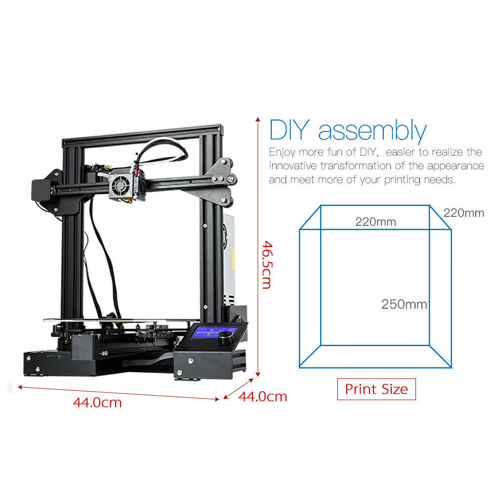 A13 impressora 3d significa bem potência de