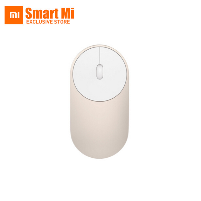 Xiaomi Mi Mini Wireless Mouse Aluminium Alloy ABS Material Support 2.4G And Bluetooth 4.0 For Windows 8 Win10 Laptop Computer