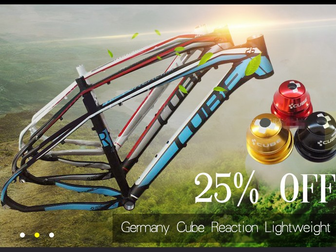 new model Aluminum mountain font b bike b font frame 15 models Germany CUBE REACTION 26