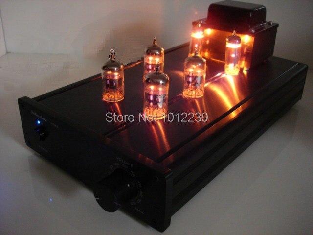Venta caliente 50 W máquina tubo de preamplificador/amplificador de audio para e