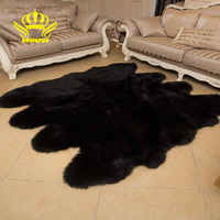 ROWNFUR Soft Artificial Sheepskin Rugs For Kids Living Room Bedroom Hairy Warm Plush Fur Floor Shaggy Mats Wool Large Carpets