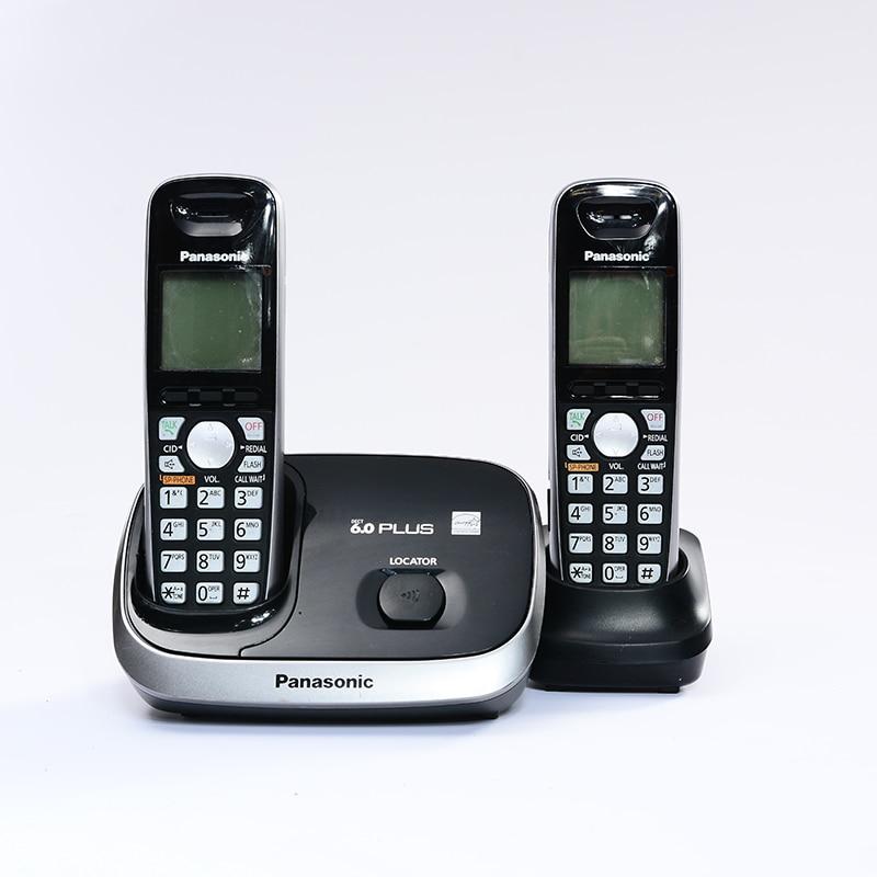 Цифровой беспроводной телефон с Handfree Call ID Беспроводной беспроводные фиксированной стационарный телефон для домашнего офиса английский