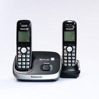 Handfree 통화 id가있는 디지털 무선 전화 사무실 용 무선 무선 고정 유선 전화 홈 영어