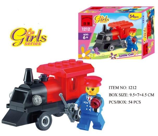 15%OFF Kart racing car Blocks kids corner productions Girls series Combat Zones series building blocks kids gifts