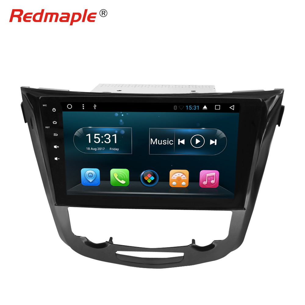 10 Octa Core Android7.1 Car Radio GPS Navigation Multimedia Player Stereo For Nissan Qashqai X Trail 2014 2017 Auto Audio