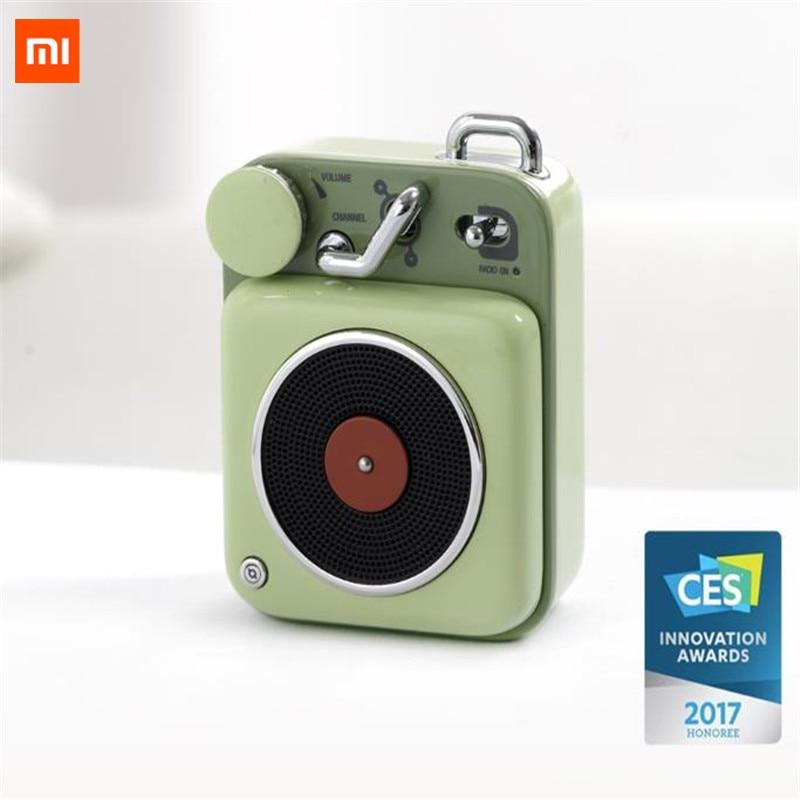 Vernederen Xiaomi Cat Koning Atomic Mini Platenspeler B612 Bluetooth Intelligente Audio Draagbare Zink Aluminium Shell Speaker In Voorraad D5