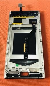 Image 2 - Usato Originale Lcd Screen Display + Touch Screen + Frame per Oukitel K3 MTK6750T Octa Core da 5.5 Pollici Fhd Spedizione trasporto Libero