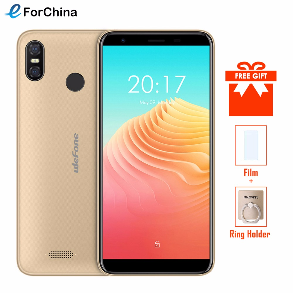 Ulefone S9 Pro 5 5 inch HD Mobile Phone Android 8 1 MTK6739 Quad Core 2GB