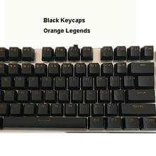 Лучшие 104 клавиш ABS двойной удар Топ блеск через OEM брелки ANSI макет для Cherry MX switches на механической клавиатуре