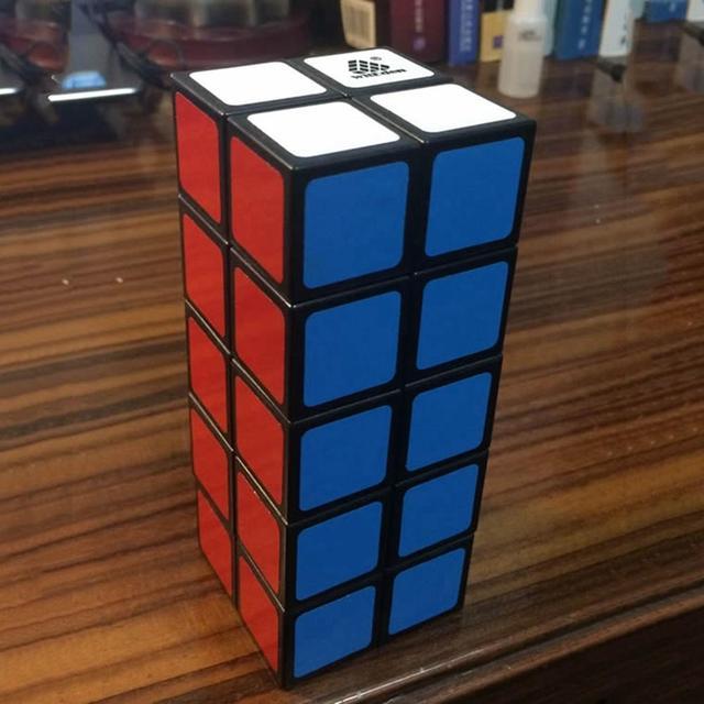 Nueva witeden 2x2x5 cubo mágico velocidad competencia profissional cubos del rompecabezas juguetes para niños kids cubo mágico regalo de año nuevo