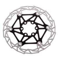 MTB Mountain Bike Bicycle Brake Disc Float Floating Rotor 160mm 6 Bolts Parts