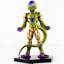 13cm Anime Dragon Ball Z Frieza Figure Toy Golden Freeza DBZ Model Doll With Base